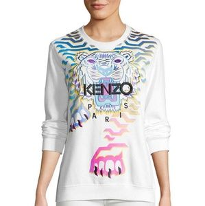 Kenzo Sweaters - KENZO Graphic Embroidery Sweatshirt